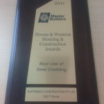 Northbuild QMBA Award 2011 - Best use of Steel Cladding