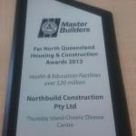 Northbuild QMBA Award 2013 - Health and Education Facilities over $20 million