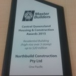 Northbuild QMBA Award 2015 - Residential Building up to $20 million