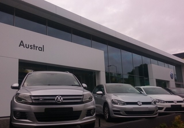 VW Showroom - Northbuild